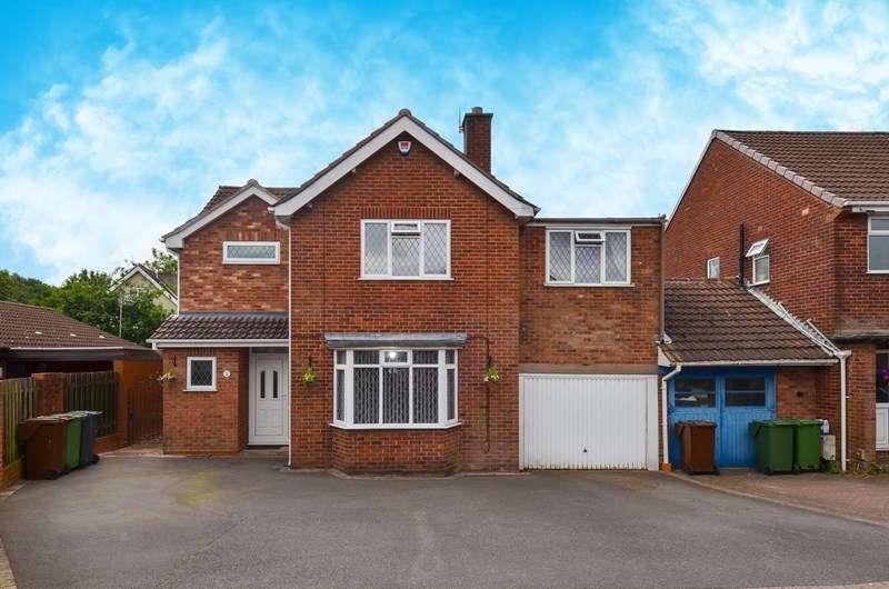 4 Bedrooms Link Detached House for sale in Cottage Lane, Marlbrook, Bromsgrove