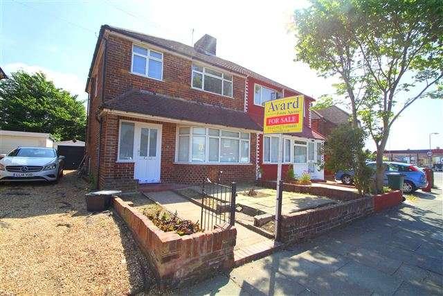 3 Bedrooms Semi Detached House for sale in Applesham Way, Portslade, East Sussex, BN41 2LQ