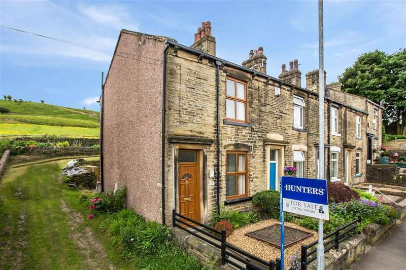 2 Bedrooms End Of Terrace House for sale in Hollingworth Road, Littleborough, OL15 0AU