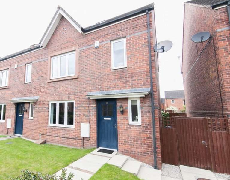 4 Bedrooms Semi Detached House for sale in Turnbull Road, Altrincham, Greater Manchester, WA14
