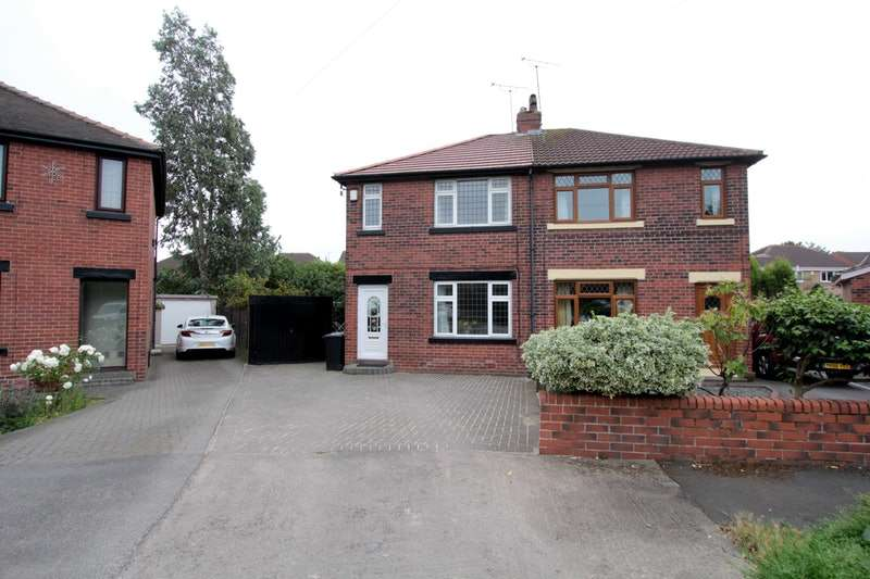 3 Bedrooms Semi Detached House for sale in Poplar Crescent, Wakefield, West Yorkshire, WF3