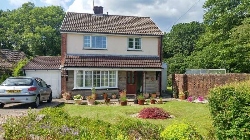 3 Bedrooms Detached House for sale in Ridgeway, Machen, Caerphilly