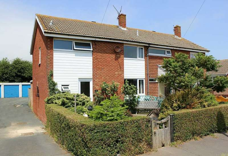 3 Bedrooms Semi Detached House for sale in Hythe Crescent, Seaford