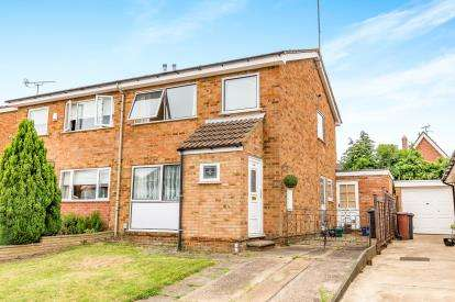 3 Bedrooms Semi Detached House for sale in Sherwood Avenue, Northampton, Northamptonshire
