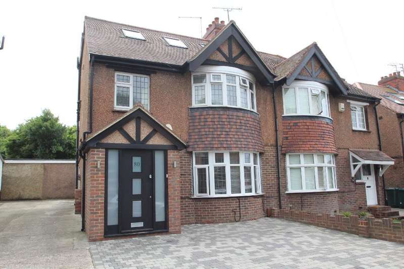5 Bedrooms Semi Detached House for sale in Carden Avenue, Brighton, East Sussex, BN1 8NE