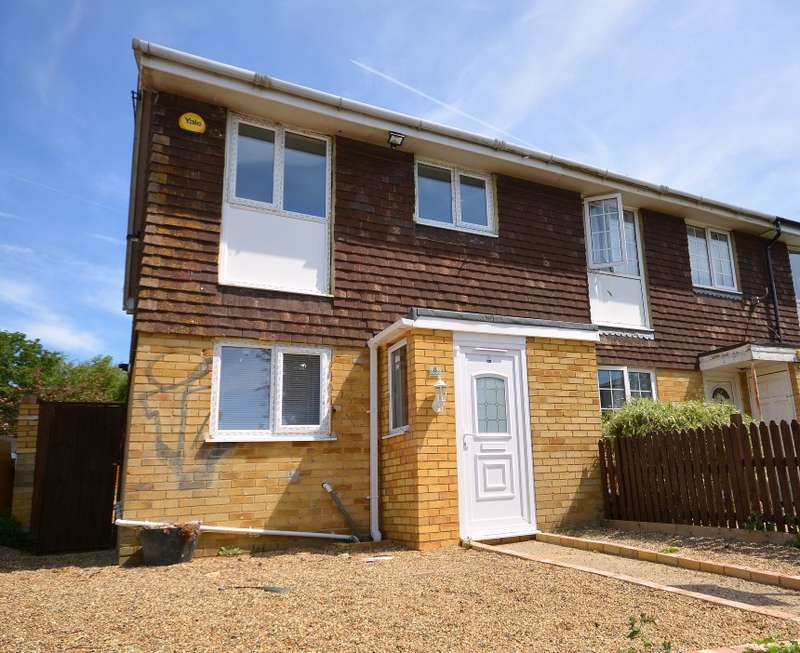 3 Bedrooms End Of Terrace House for sale in Jennifer Gardens, Margate, Kent, CT9 3XX