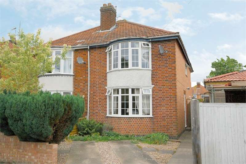 3 Bedrooms Semi Detached House for sale in Pytchley Road, Southfields, RUGBY, Warwickshire