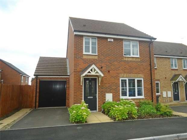 3 Bedrooms Detached House for sale in Sargasso Lane, Swans Bridge, Nuneaton, Warwickshire