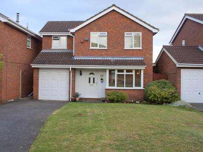 4 Bedrooms Detached House for sale in Farndale Close, Brierley Hill, West Midlands