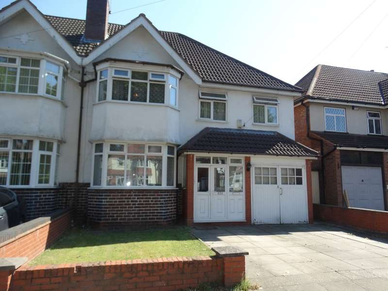 5 Bedrooms Semi Detached House for sale in Shirley Road, Hall Green