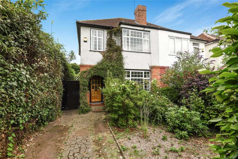 3 Bedrooms Semi Detached House for sale in Pield Heath Road, Hillingdon, Middlesex, UB8