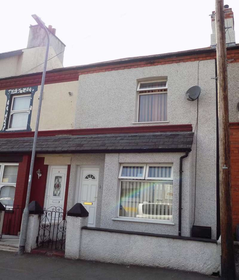2 Bedrooms Terraced House for sale in Oswald Road, Llandudno Junction, LL31