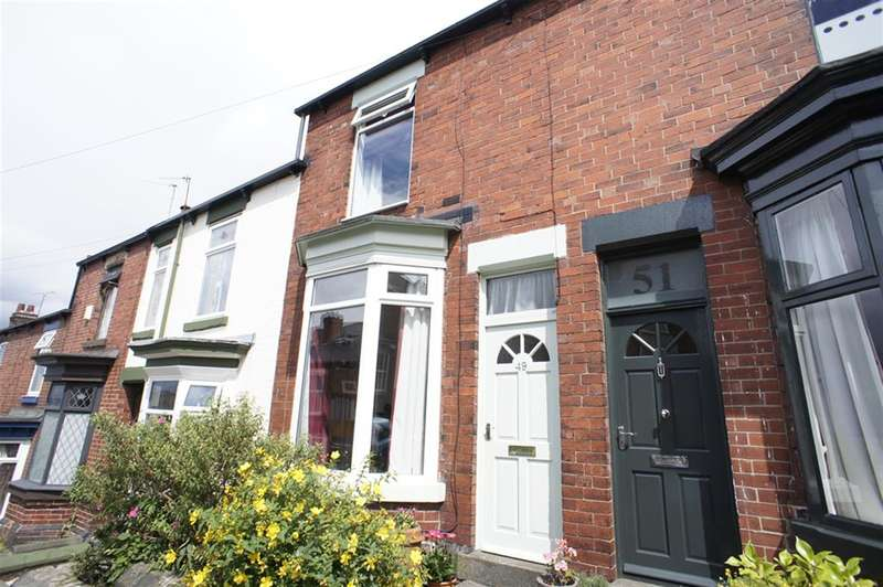 2 Bedrooms Terraced House for sale in Cockayne Place, Meersbrook, Sheffield, S8 9DG
