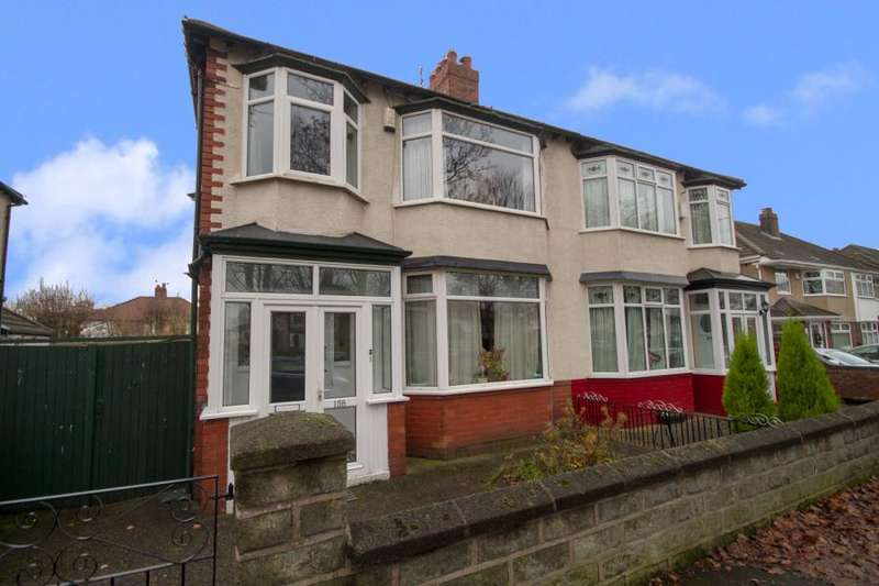 3 Bedrooms Semi Detached House for sale in Brodie Avenue, Mossley Hill, L18 4RJ