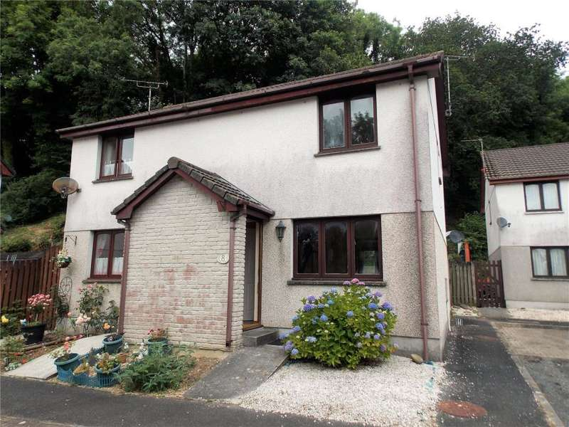 2 Bedrooms Semi Detached House for sale in Orchard Grove, St. Austell, Cornwall