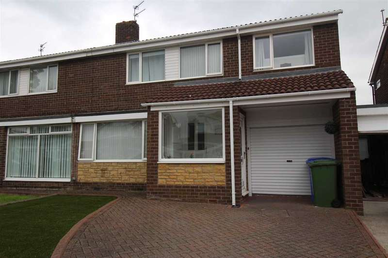 4 Bedrooms Semi Detached House for sale in Winshields, Collingwood Chase, Cramlington