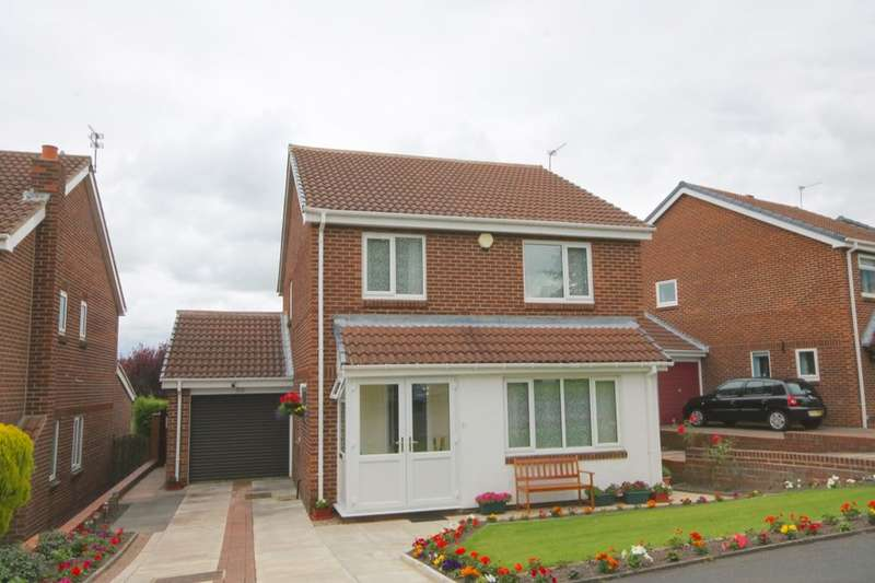 4 Bedrooms Detached House for sale in Grosvenor Way, Chapel Park, Newcastle Upon Tyne, NE5