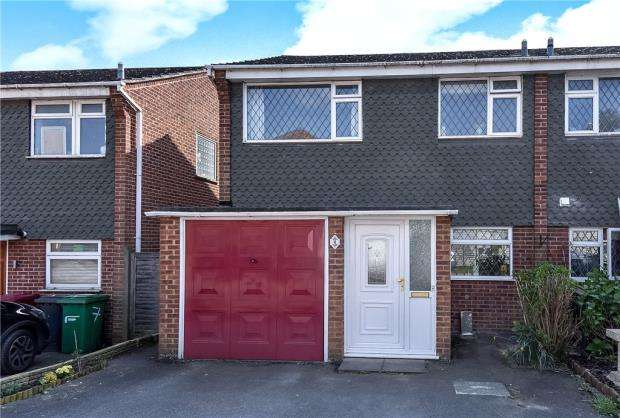 3 Bedrooms End Of Terrace House for sale in Leaholme Gardens, Slough