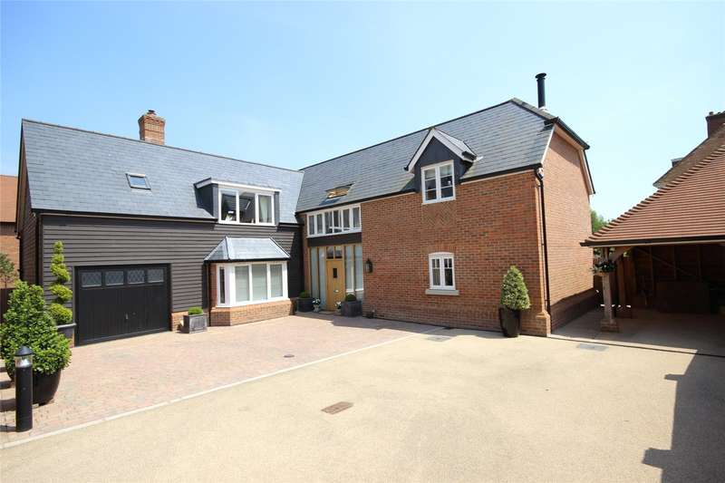 5 Bedrooms Detached House for sale in Ryebridge Lane, Upper Froyle, Alton, Hampshire, GU34