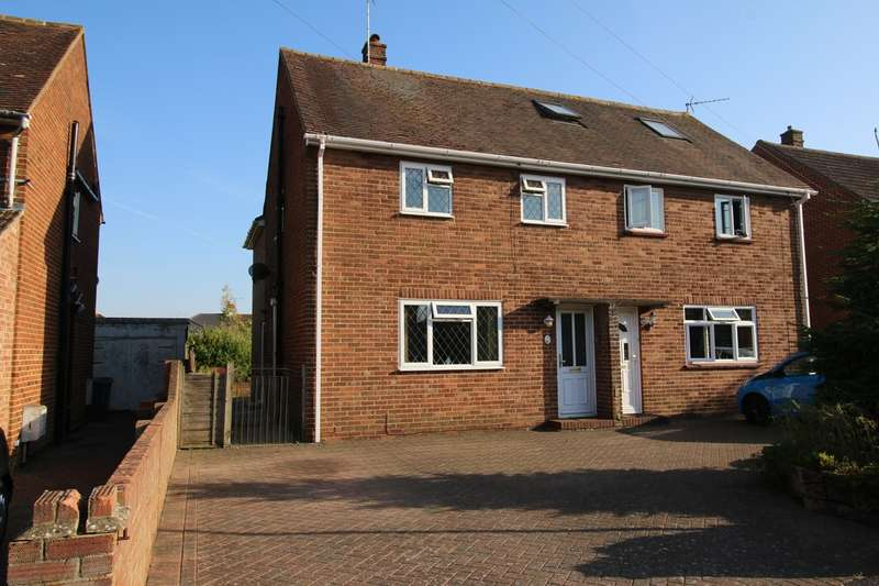 3 Bedrooms Semi Detached House for sale in Hillary Road, South View, Basingstoke, RG21