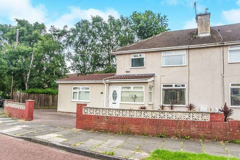 3 Bedrooms Semi Detached House for sale in Rowanwood Gardens, Lobley Hill , Gateshead, NE11