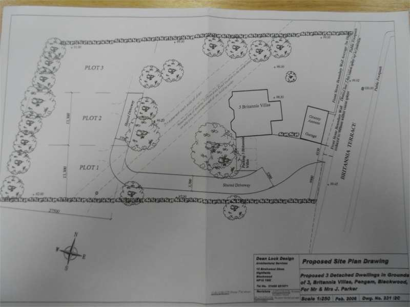 Plot Commercial for sale in Britannia Villas, Pengam, Blackwood, NP12