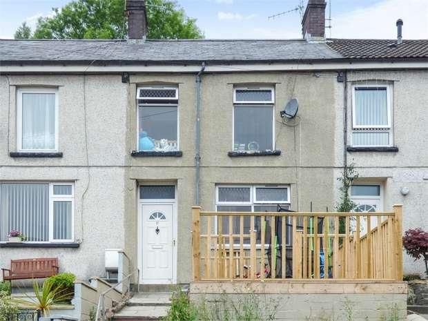 4 Bedrooms Terraced House for sale in Harris Terrace, Penrhiwceiber, Mountain Ash, Mid Glamorgan