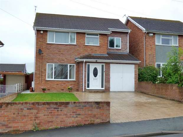 4 Bedrooms Detached House for sale in The Ridgeway, Marchwiel, Wrexham