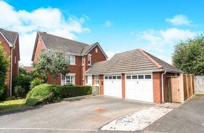 5 Bedrooms Detached House for sale in Brecon Avenue, Worcester, Worcestershire
