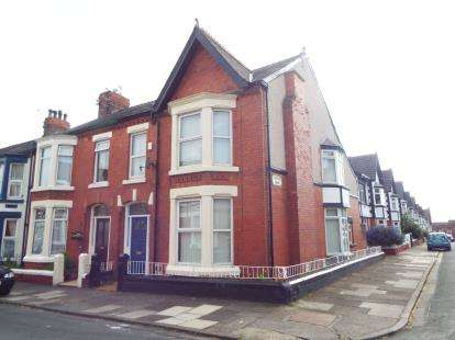 4 Bedrooms End Of Terrace House for sale in Charles Berrington Road, Liverpool, Merseyside, L15