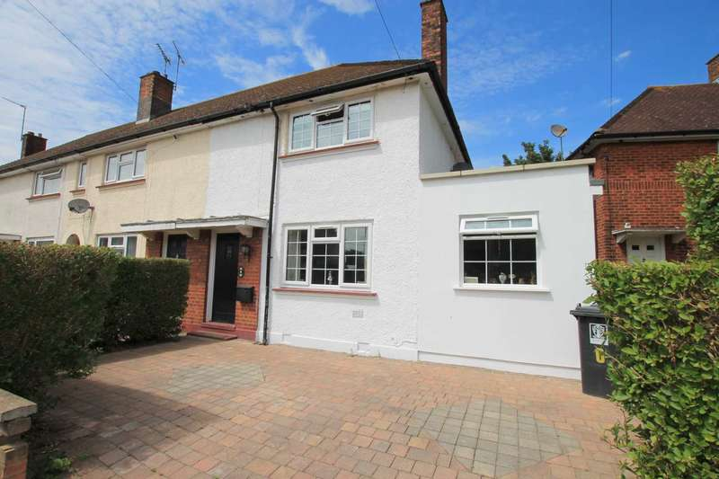 2 Bedrooms End Of Terrace House for sale in Harris Road, Watford