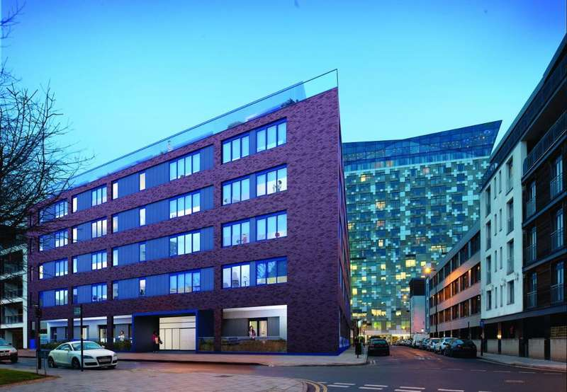 2 Bedrooms Apartment Flat for sale in Ridley House, Ridley Street, Birmingham, B1 1LD