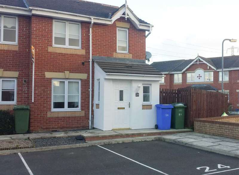 3 Bedrooms Terraced House for sale in Allonby Mews, Cramlington