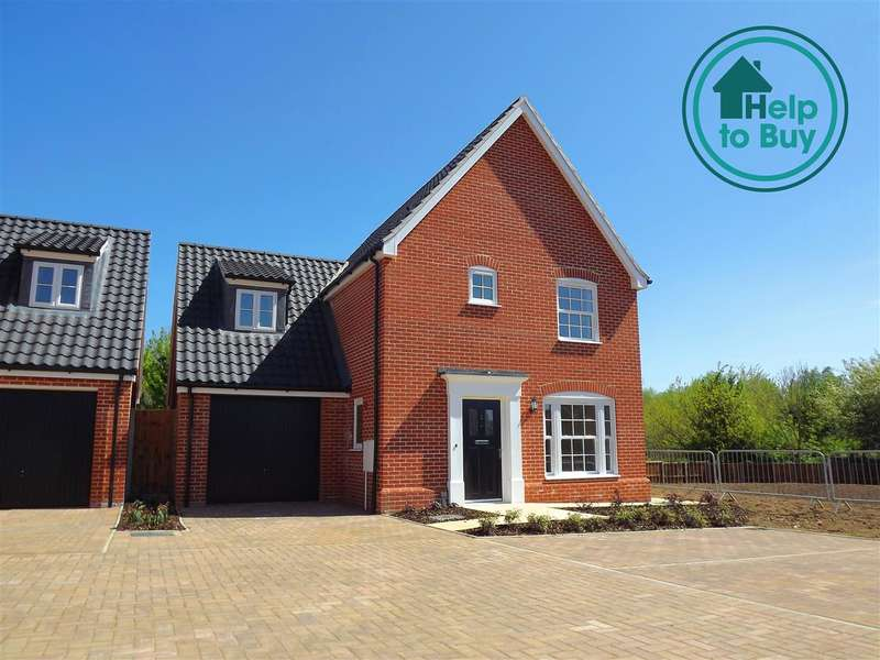 4 Bedrooms House for sale in Plot 36, The Oxburgh, Springfield Grange, Acle