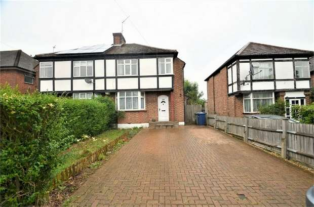 3 Bedrooms Semi Detached House for sale in Devonshire Road, Mill Hill, NW7
