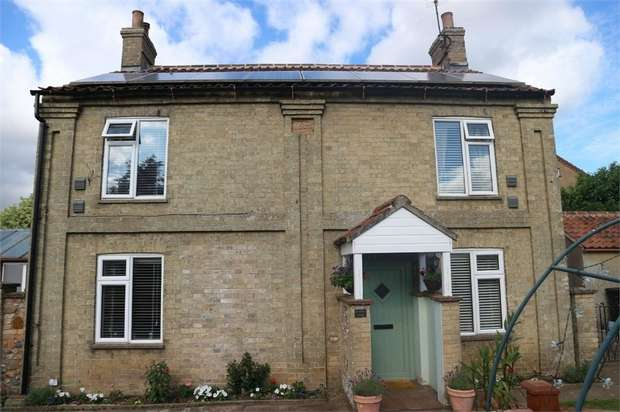 3 Bedrooms Detached House for sale in California, Fincham, King's Lynn, Norfolk
