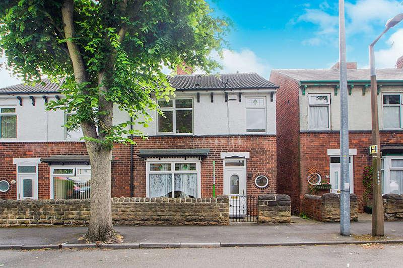 3 Bedrooms Semi Detached House for sale in Kirkby Avenue, Ilkeston, DE7