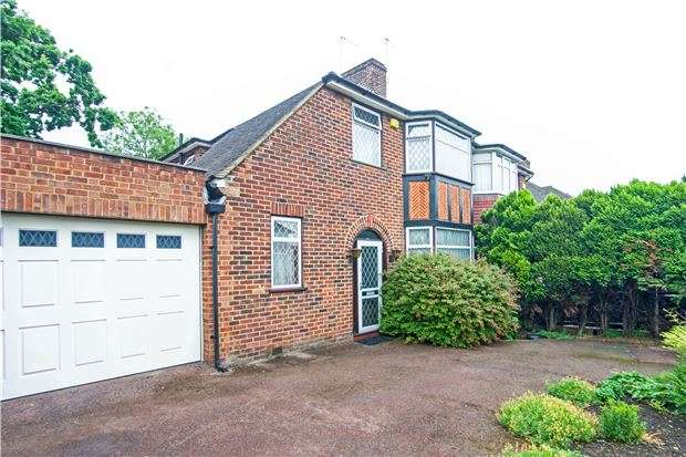 4 Bedrooms Semi Detached House for sale in Stag Lane, KINGSBURY, NW9 0QS