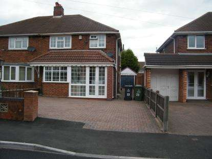 3 Bedrooms Semi Detached House for sale in Spring Lane, Willenhall, West Midlands
