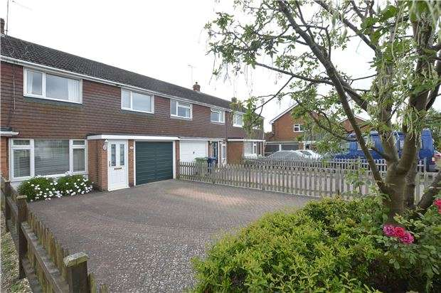 3 Bedrooms Terraced House for sale in Northway, TEWKESBURY, Gloucestershire, GL20 8QP