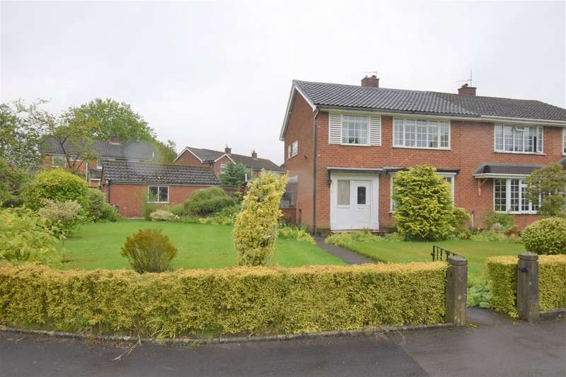 3 Bedrooms Semi Detached House for sale in Syddal Crescent, Bramhall