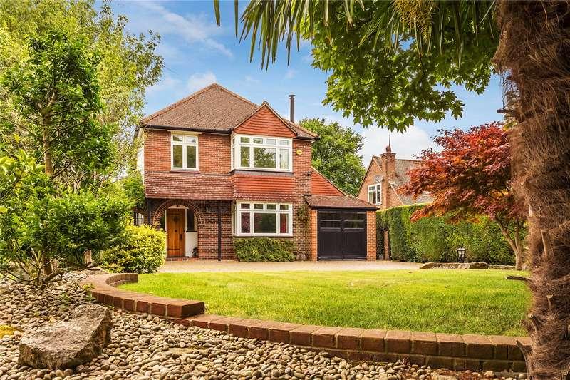 4 Bedrooms Detached House for sale in Hilltop Lane, Chaldon, Surrey, CR3