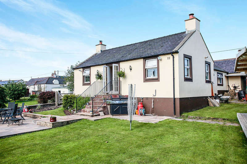 3 Bedrooms Detached Bungalow for sale in Myrtle Cottage High Road, Hightae, Lockerbie, DG11