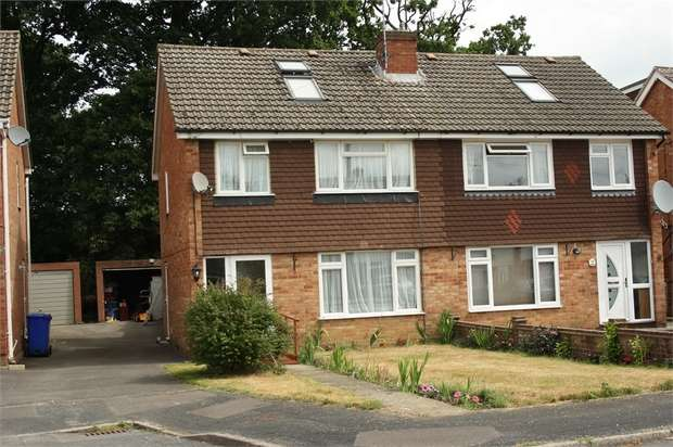 4 Bedrooms Semi Detached House for sale in Green Way, Aldershot, Hampshire