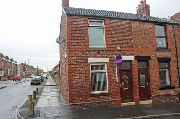 2 Bedrooms End Of Terrace House for sale in Crowther Street, St Helens, Merseyside