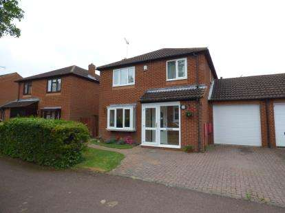 4 Bedrooms Link Detached House for sale in Horton Gate, Giffard Park, Milton Keynes, Bucks
