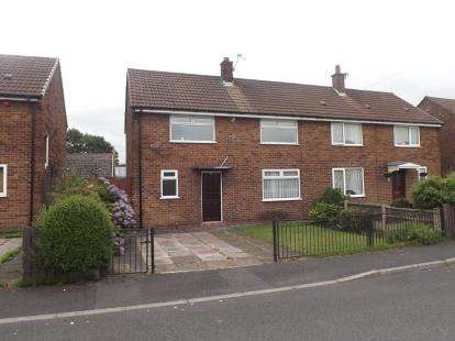 3 Bedrooms Semi Detached House for sale in Cherry Tree Road, Lowton, Warrington, Cheshire