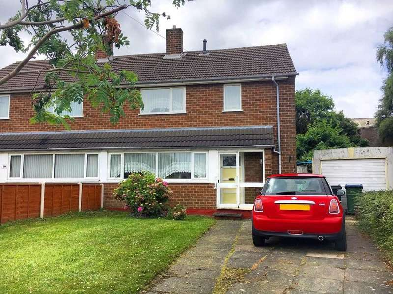 3 Bedrooms Semi Detached House for sale in DENBIGH CRESCENT, WEST BROMWICH, B71 2RU