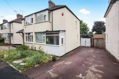 2 Bedrooms Semi Detached House for sale in Fourth Avenue, Luton, Bedfordshire, Sundon Park