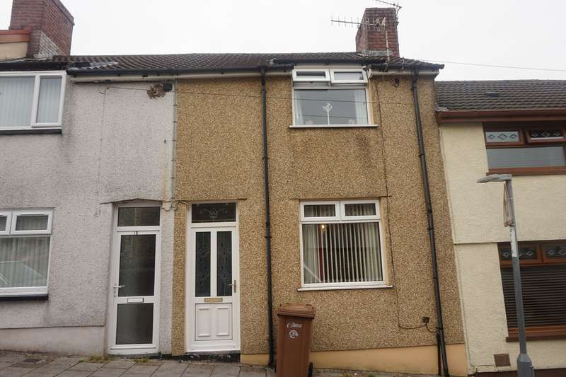 3 Bedrooms Terraced House for sale in Railway Terrace, Gilfach, Bargoed, CF81
